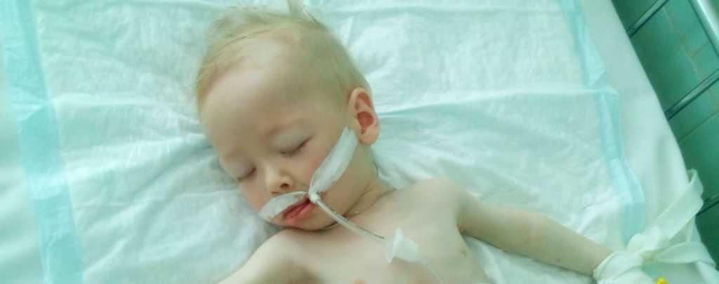 «У малыша началось желудочное кровотечение»: маленький Серафим нуждается в вашей помощи