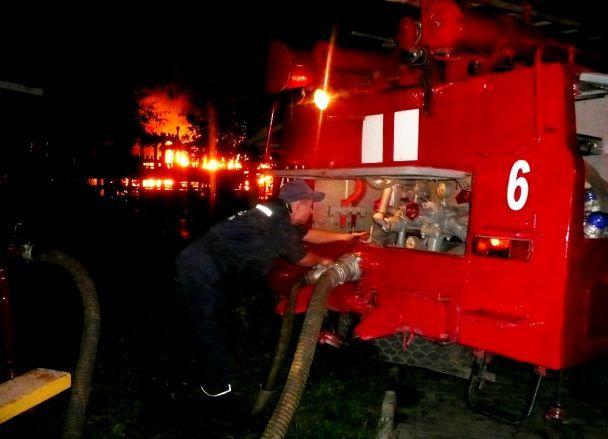 В центре Киева вспыхнул пожар прямо в подземном переходе