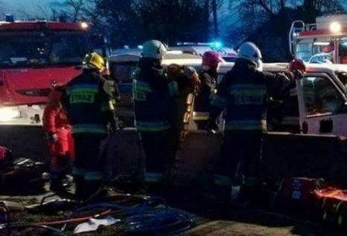 «Влетели в лесовоз…»: Микроавтобус с украинскими работниками попал в смертельное ДТП