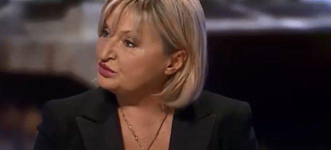 Луценко объяснила позицию президента по закону об отмене депутатской неприкосновенности