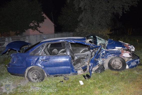 «Не разминулись и …»: На Волыни произошла жуткая смертельное ДТП, от авто остался один металлолом