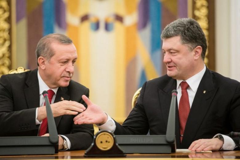 Разговор за закрытыми дверями: Стало известно, о чем говорил Порошенко с Эрдоганом