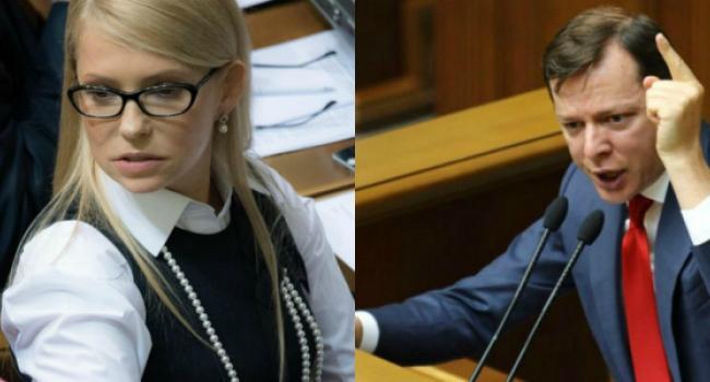 «Мои» чихуахуа «хотят попробовать Юлькину задницу»: Ответ Ляшко Тимошенко активно обсуждают в Сети