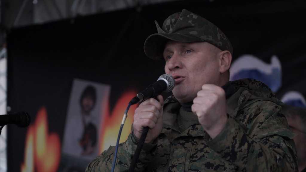 Обнародовано видео со стрельбой командира батальона ОУН в Киеве