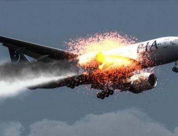 НАСТОЯЩИЙ УЖАС! Пассажирский самолет загорелся прямо в небе, а потом … Словами не передать, что там творилось