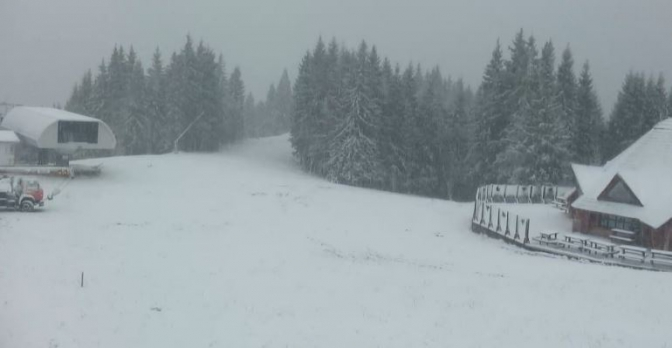 «Можно уже становиться на лыжи»: Карпаты засыпало снегом. Невероятные фото
