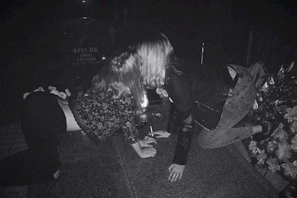 «Танцы на костях»: Появилось видео и подробности львовской вечеринки на кладбище