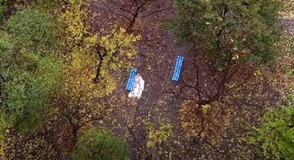 «Лежал прямо на скамейке»: в Запорожье нашли труп посреди города