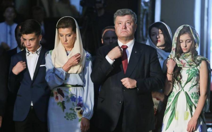 «Якобы пришел поужинать…»: Сеть обсуждает визит семьи Порошенко в ресторан