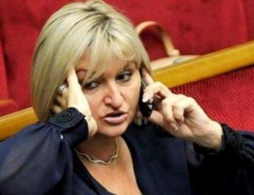 «Украинская Пэрис Хилтон»: Ирина Луценко появилась в Раде на 11-сантиметровых золотых каблуках за бешеные деньги