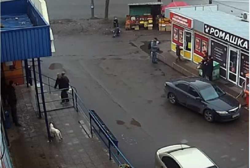 «Лихие 90?»: Появилось видео дерзкого похищения женщины в Киеве