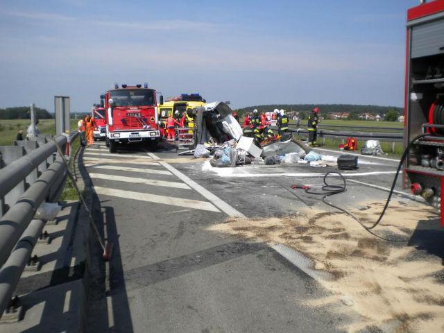 В Словакии разбился автобус с украинскими работниками, есть жертвы