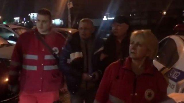 «Толпа «порвала» водителя»: в Киеве устроили самосуд, который сняли на видео