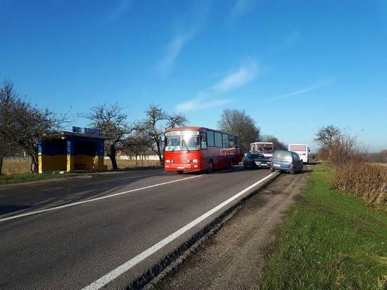 На Львовщине столкнулись два рейсовых автобуса: Есть пострадавшие