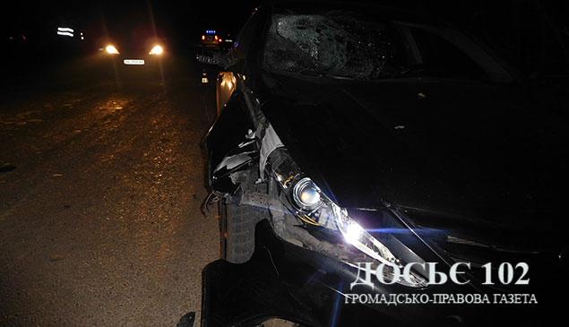 Был трезвым? На Тернопольщине водитель сбил насмерть пешехода