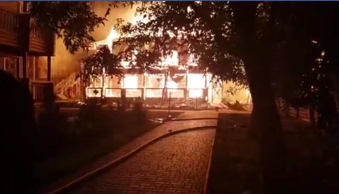 На Полтавщине произошел пожар, есть погибшие