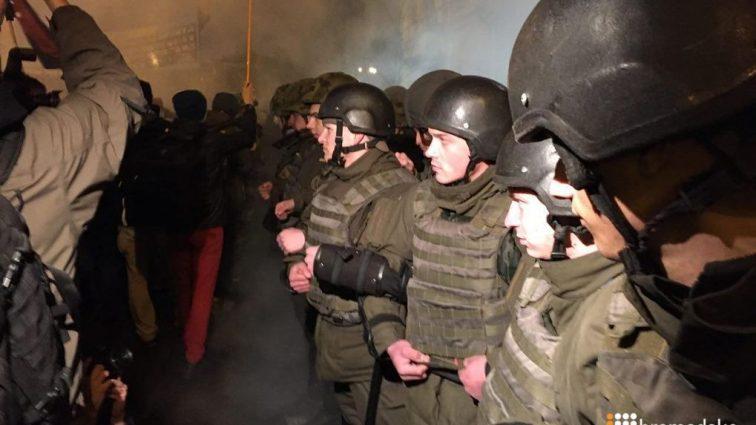 В Тернополе совершили нападение на скандальный банк