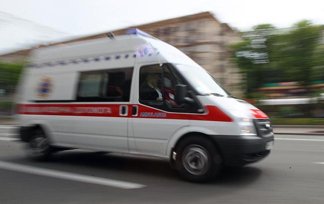 На Прикарпатье «скорая» едва успела в больницу, а все из-за …