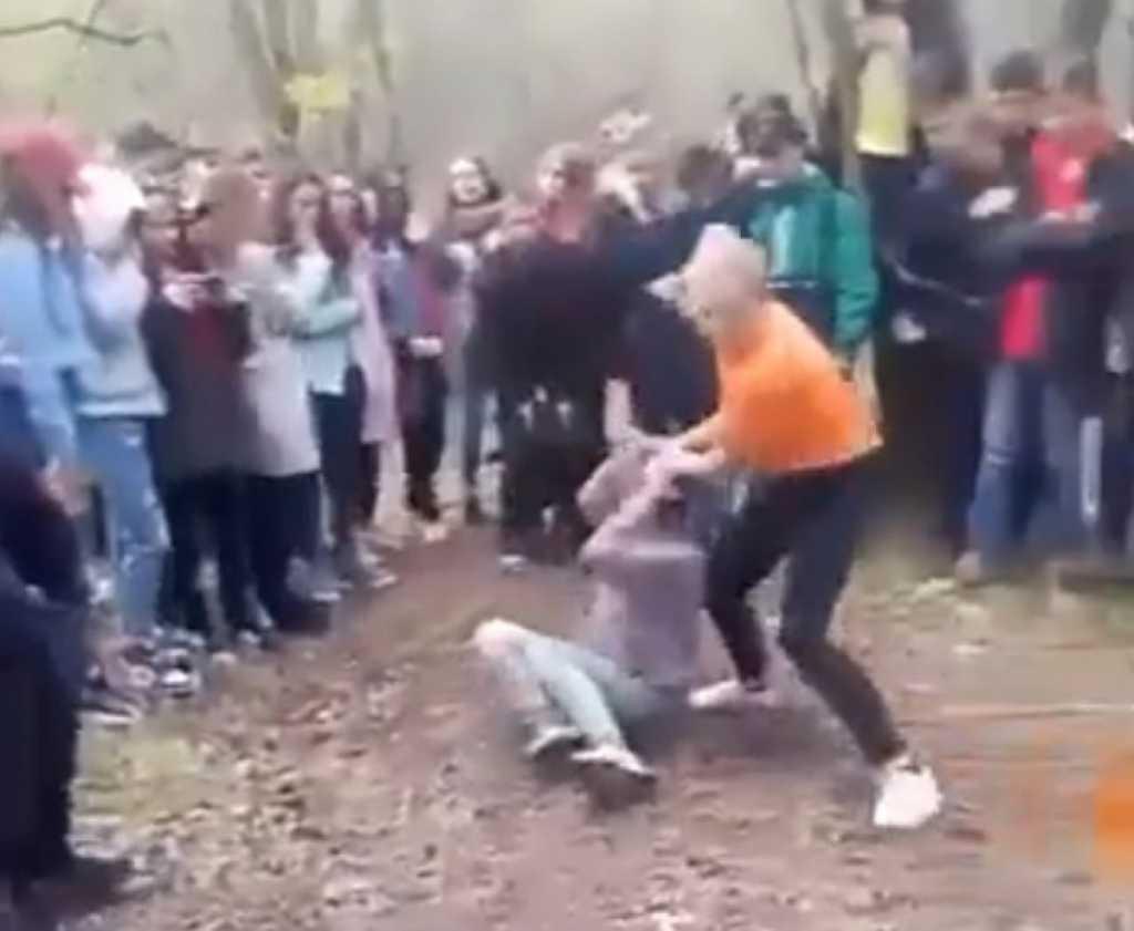 За плохой комментарий! Выяснили подробности жестокой драки школьниц в Херсонской области