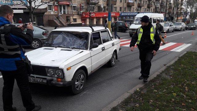 В Запорожье на пешеходном переходе водитель сбил двух 12-летних мальчиков