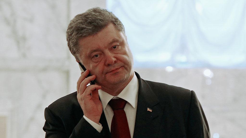 «Говорить с клиентами по-украински …»: Порошенко ожидает принятия соответствующего закона