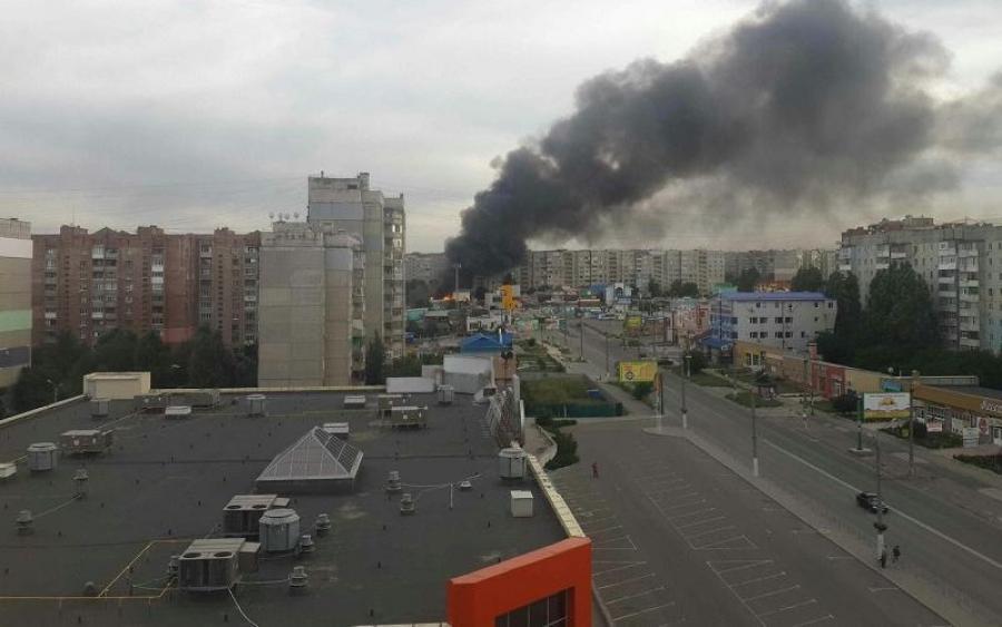 В центре Луганска произошел мощный взрыв, пострадавшие в тяжелом состоянии
