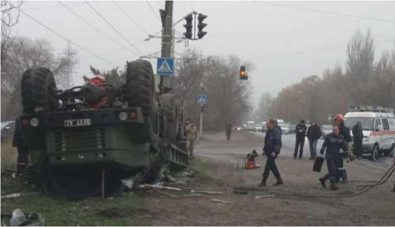 Жуткое ДТП: На Запорожье машина с украинскими военными попала в аварию, есть жертвы