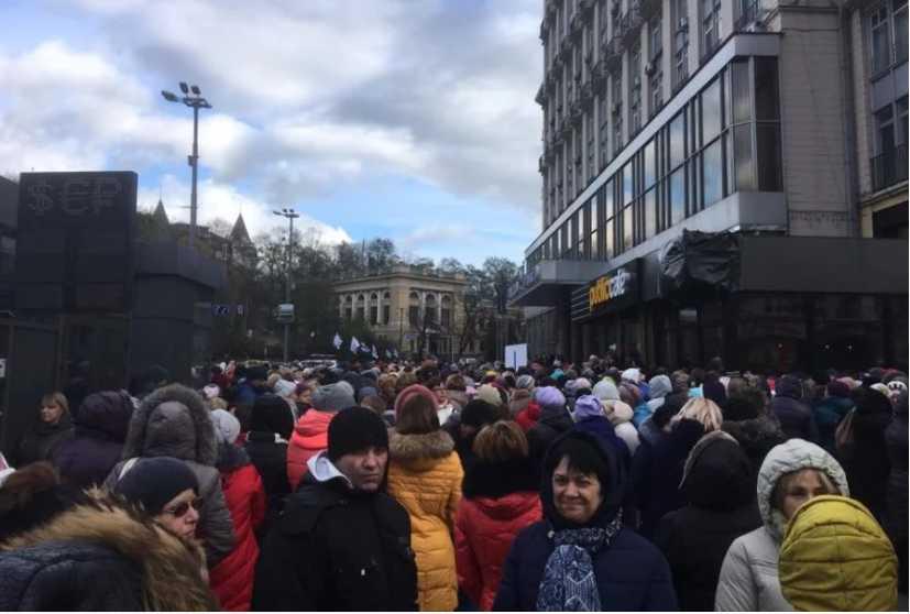 Саакашвили здесь ни к чему: Под Кабинетом министров новый бунт, узнайте причину