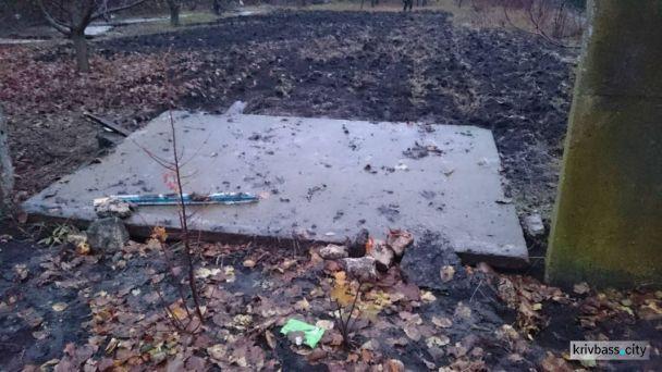 Ужасный случай: в Кривом Роге подростка насмерть придавила бетонная плита