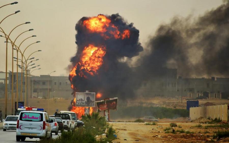 «Окна многих расположенных неподалеку домов просто повылетали» Мощный взрыв прогремел у Минфина