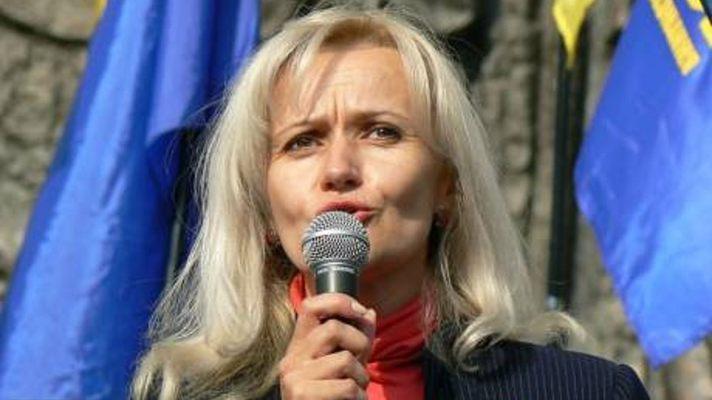 Яблочко от яблони? София Семчишин дочь скандального «языковода» Украины Ирины Фарион