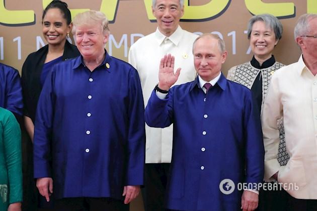 «Заявление было специально подготовленно к встрече»: стало известно о чем говорили Путин и Трамп в Дананзе