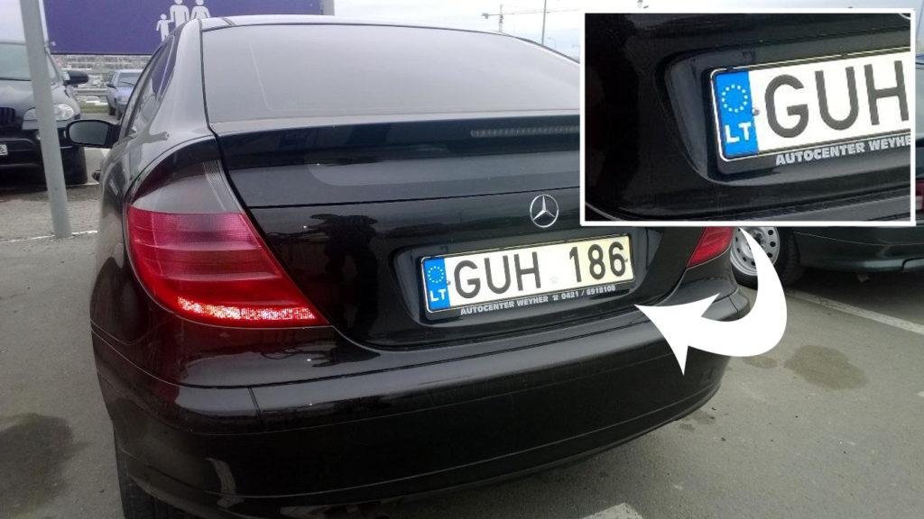 «Инициирует конфискацию…»: Литва сделала резкое заявление о авто с литовскими номерами в Украине