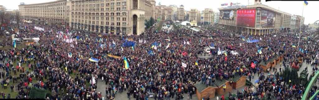«Требуют импичмент»: украинцы подняли бунт в центре Киева