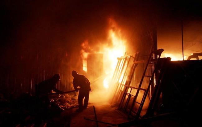 Крупный пожар охватил санаторий в Одессе, появились фото и видео