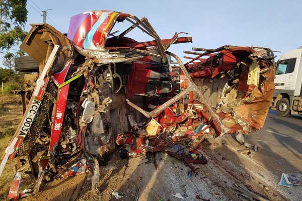Погибло более 36 человек, большое количество пострадавших: ДТП пассажирского автобуса (Фото)