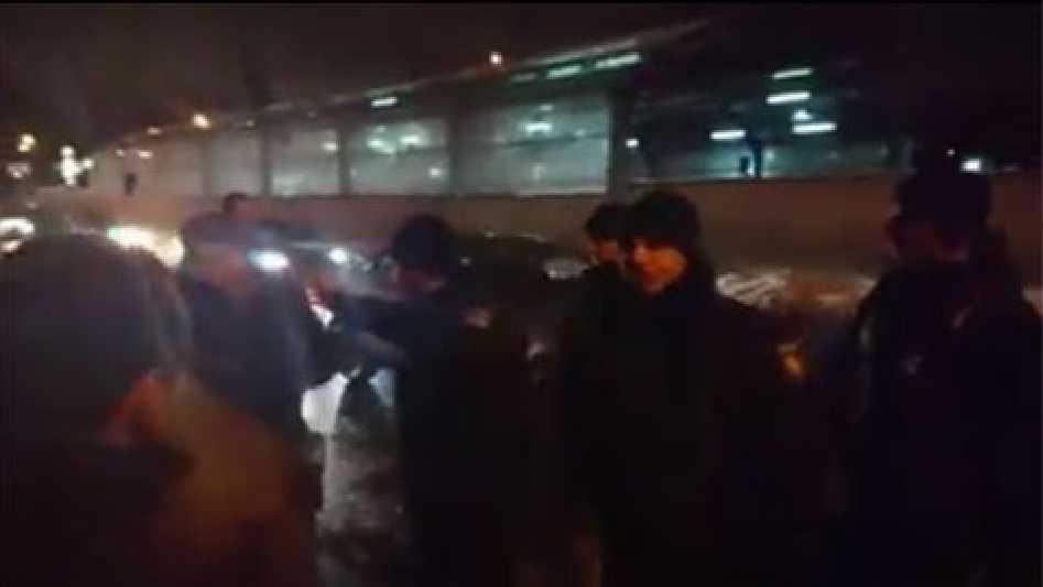 Драка местных жителей с цыганами, переросла в массовое побоище (Видео)