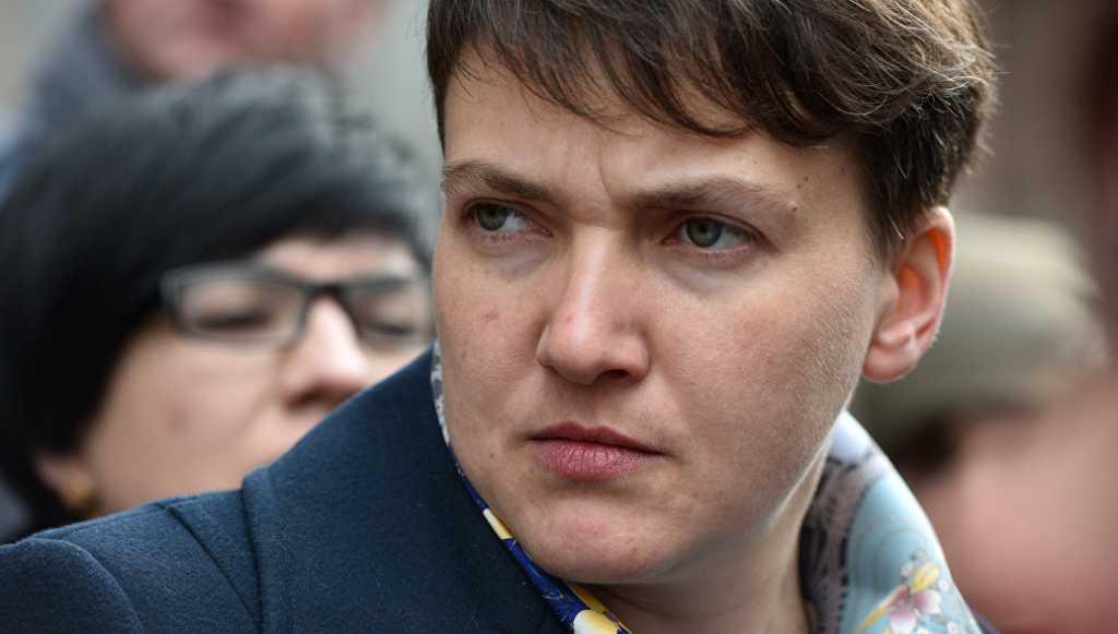 «Это унижение»: Савченко рассказала о деятельности Саакашвили