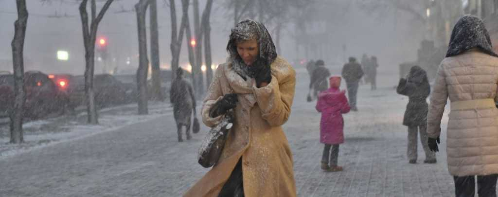 На Украину «движется» циклон: Ждите жгучих морозов и метели