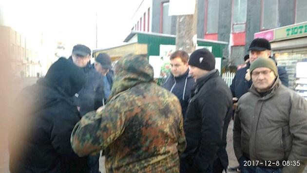 В Ивано-Франковске бойцы АТО отомстили маршрутчику за погибшего собрата
