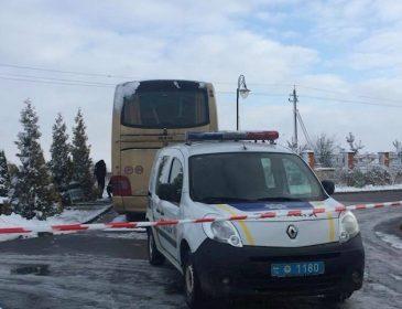 Возле Львова взорвали взрывчатку в автобусе в котором перевозили польских туристов