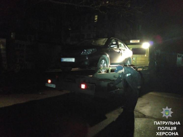 В Херсоне произошло ужасное ДТП, пьяный водитель не справился с управлением