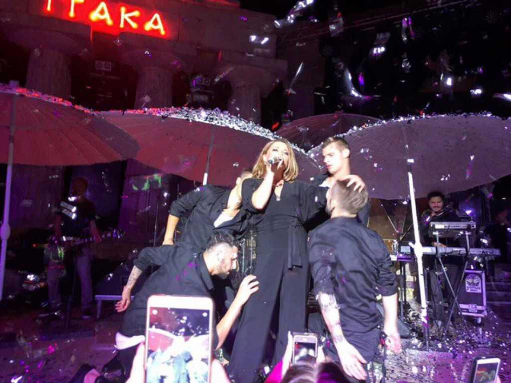 СКАНДАЛ! На концерте Могилевской в Чернигове унизили участников АТО и их родственников