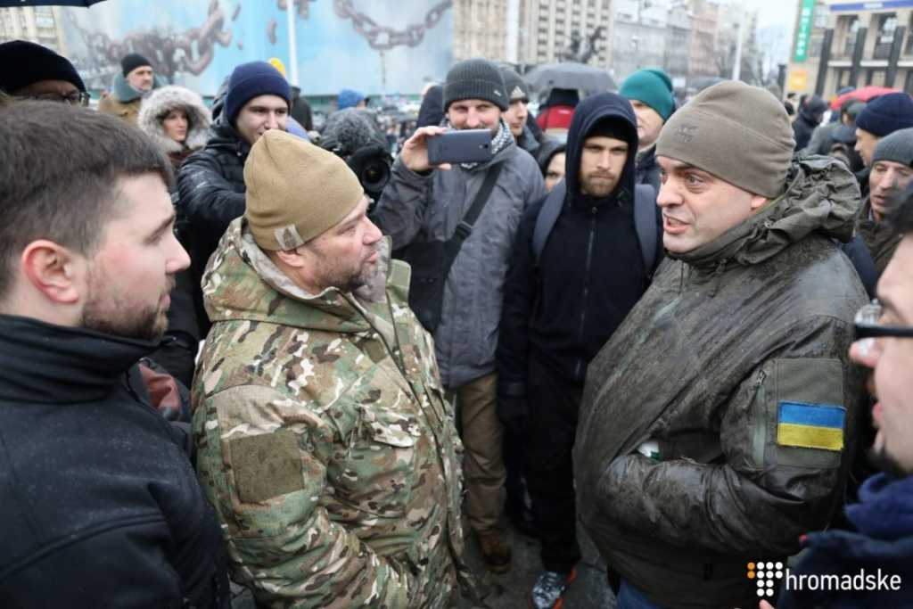«Пойди и у Пороха от * осы»: Появилось видео нападения бойцов «Азова» на Бирюкова