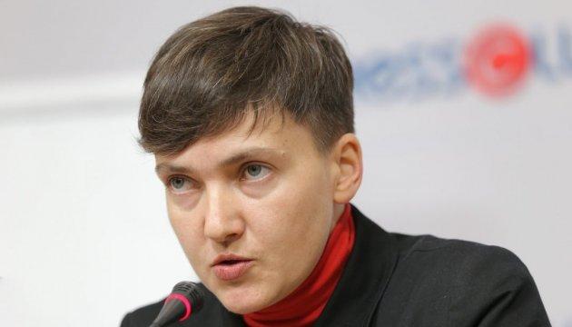 «Хочу и буду!»: Савченко ошеломила украинцев своим заявлением о поездках к террористам