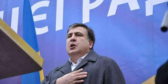 «Мой путь это мирный путь»: Саакашвили «категорически отмежевался» от попыток захвата Октябрьского дворца