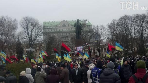 Второй «марш за импичмент»: В столице сторонники Саакашвили вновь вышли на митинг