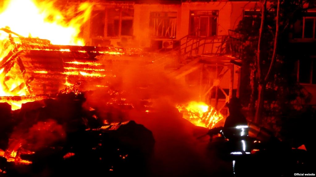«Был полностью охвачен огнем»: На Львовщине произошел ужасный смертельный пожар