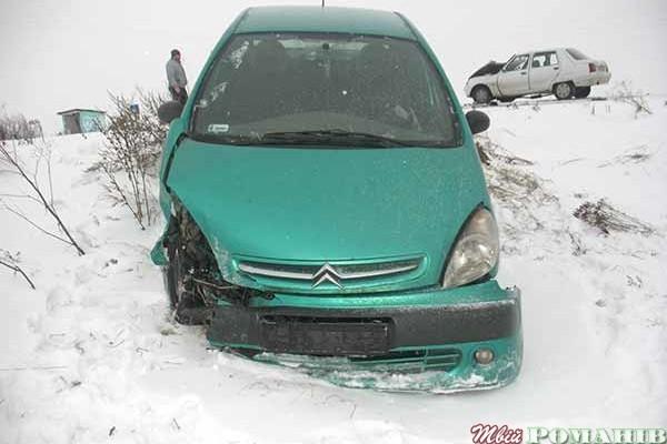 В Харькове столкнулись два автомобиля, есть пострадавший