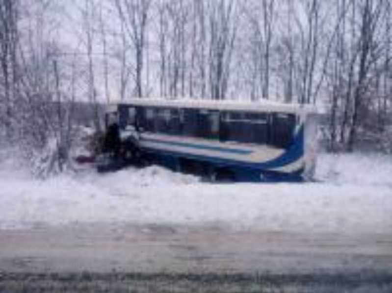 На Львовщине в ДТП попал автобус, пострадали восемь человек (ФОТО)